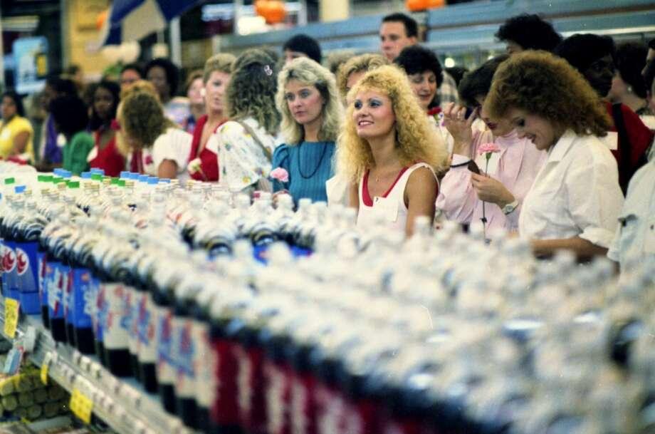 Rice Food Market singles event, 1986.