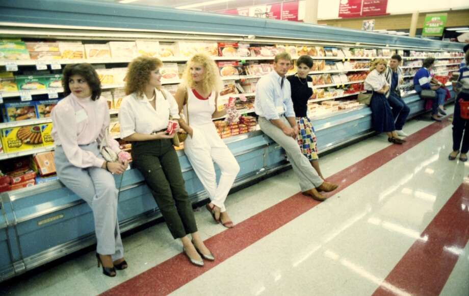 Rice Food Market singles event, 1986.
