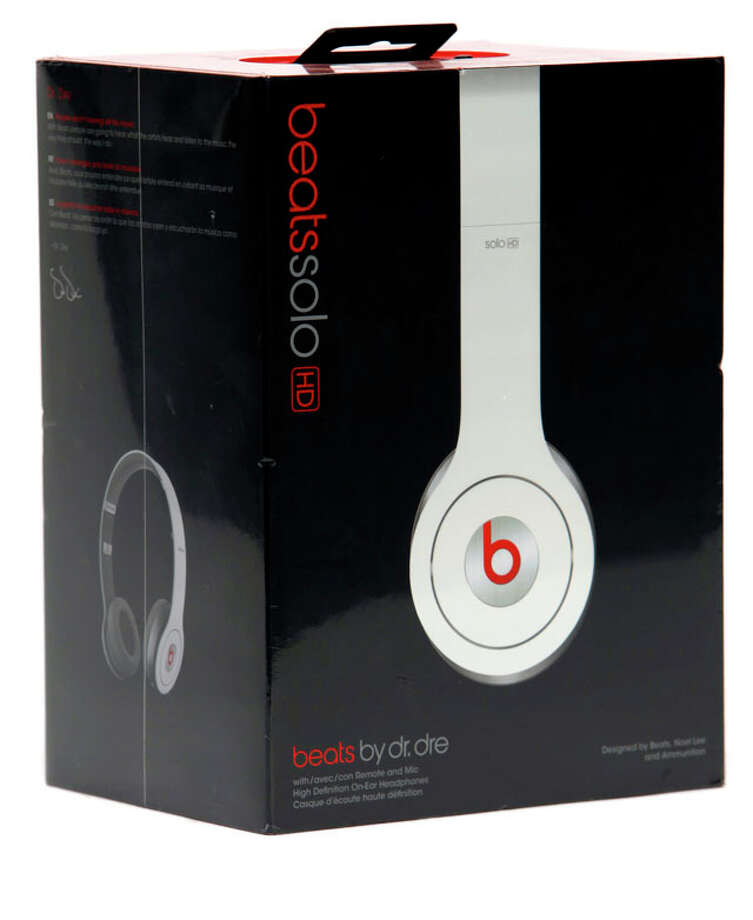 Tech Gifts - Beats by Dr. Dre Solo, HD: Dre continues to make heads bop for the Beats, and it's easy to see (and hear) why. The Solo HD headphones cup your ears in comfy soft leather that holds every bass thump and high-hat crash. The adjustable headband fits various noggins, while the built-in microphone lets you rap on your cell phone an skip through your music. And oh, those stylin' colors...$199.99. Photo: William Luther, Express-News / © 2012 San Antonio Express-News