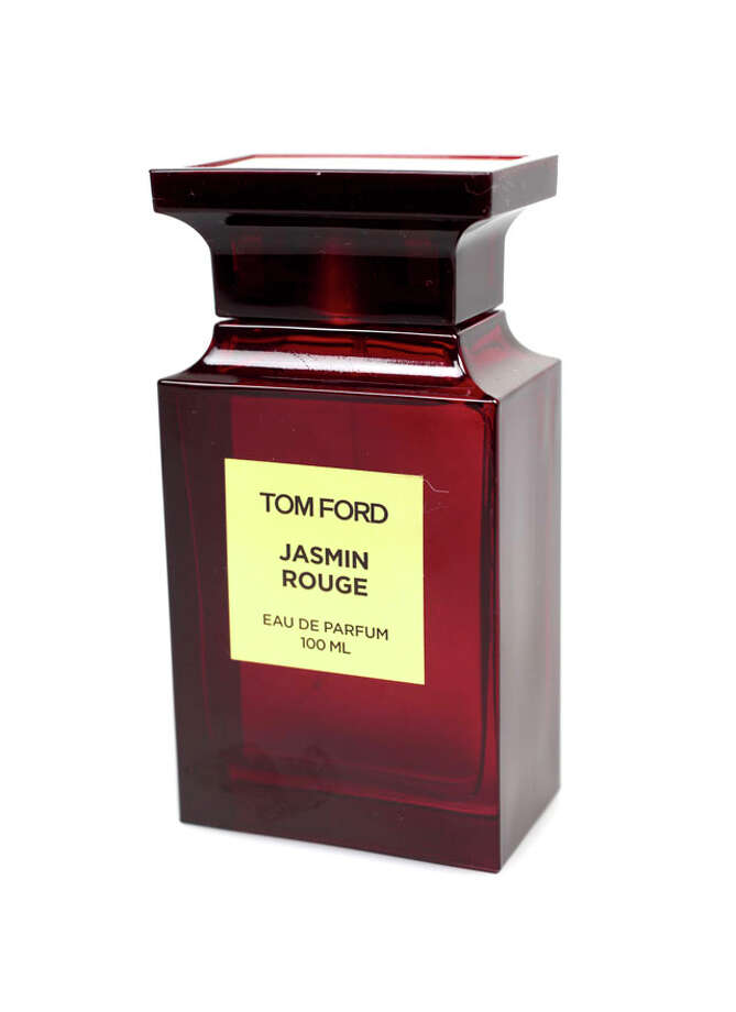 Luxury Gifts- Tom Ford's newest fragrance Jasmin Rouge eau de parfum, $280, from Neiman Marcus at the Shops at La Cantera. Photo: Juanito M Garza, Express-News / San Antonio Express-News