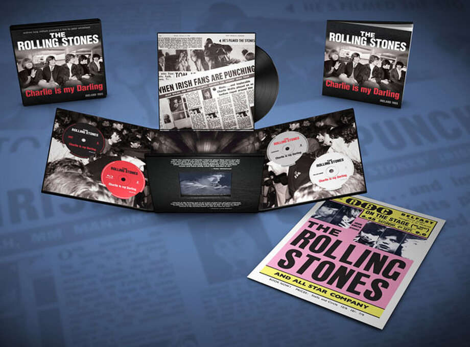 "Gifts for Dad- ""The Rolling Stones Charlie is my Darling - Ireland 1965"" Super Deluxe Box Set. Photo: Express-News"