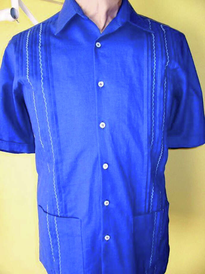 Gifts for Dad- A guayabera in the Dos Carolinas online catalog at www.doscarolinas.com. Photo: Express-News