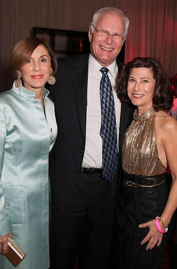 Marsha Monro, Mark Laret and Adrienne Mally. Photo: Drew Altizer Photography