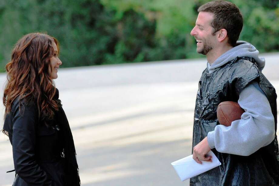 "Jennifer Lawrence and Bradley Cooper star in ""Silver Linings Playbook."" Photo: The Weinstein Co."