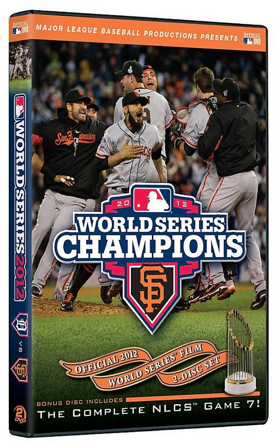 The San Francisco Giants post-season and World Series win are captured in the new MLB DVD Photo: Courtesy MLB