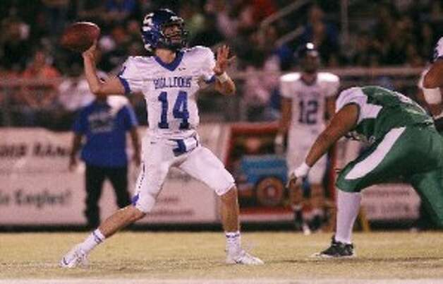 Koy Detmer Jr. has pretty good QB genes. Photo: Kin Man Hui/Express-News