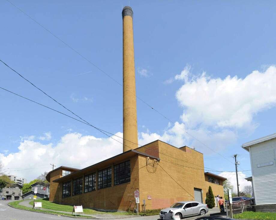 Yesler Terrace Steam Plant. Photo: Joe Mabel/Wikimedia Commons