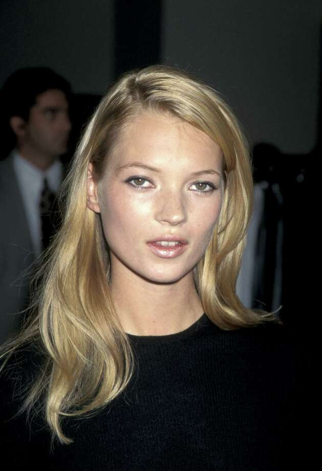 Kate Moss at a Calvin Klein Boutique at the Saks Fifth Avenue store in Beverly Hills in 1995.  Photo: Jim Smeal, WireImage / Ron Galella Collection