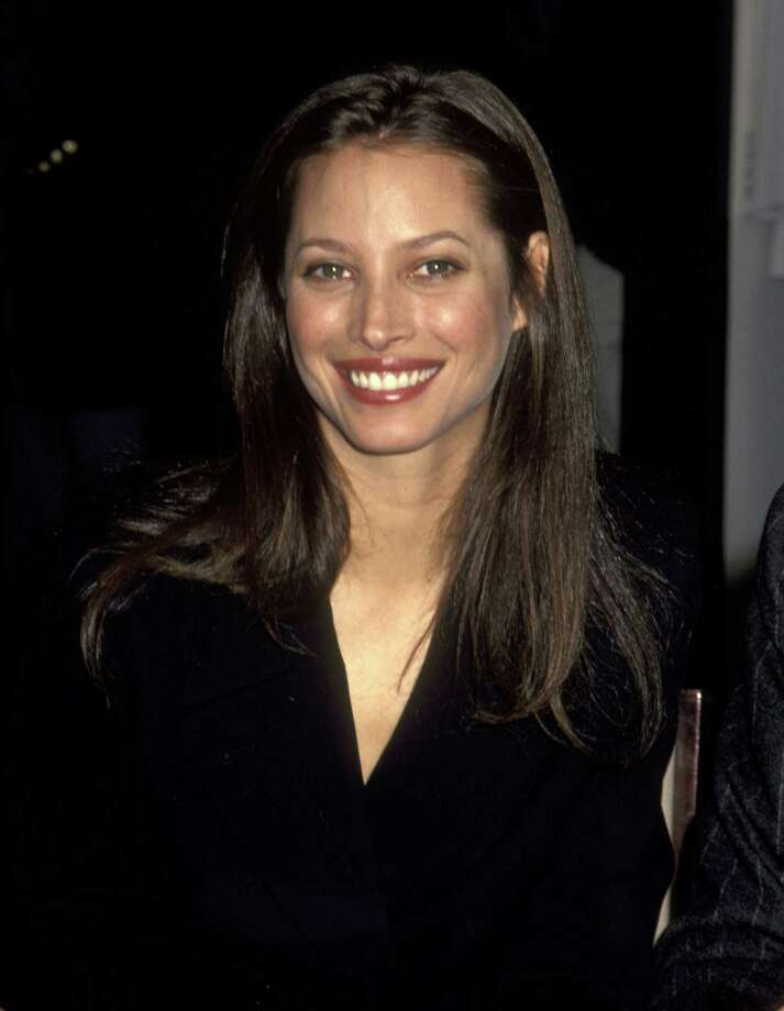 Christy Turlington introducing Calvin Klein's women's underwear collection in 1995 at Bloomingale's in New York.  Photo: Ron Galella, WireImage / Ron Galella Collection