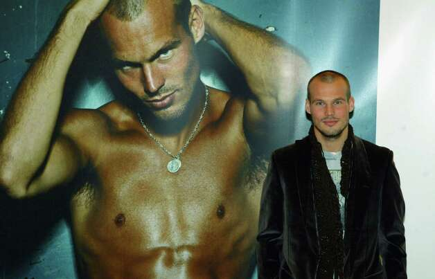 Swedish footballer Freddie Ljungberg was a famous CK undies model, back in 2003.  Photo: Gareth Cattermole, Getty Images / 2003 Getty Images
