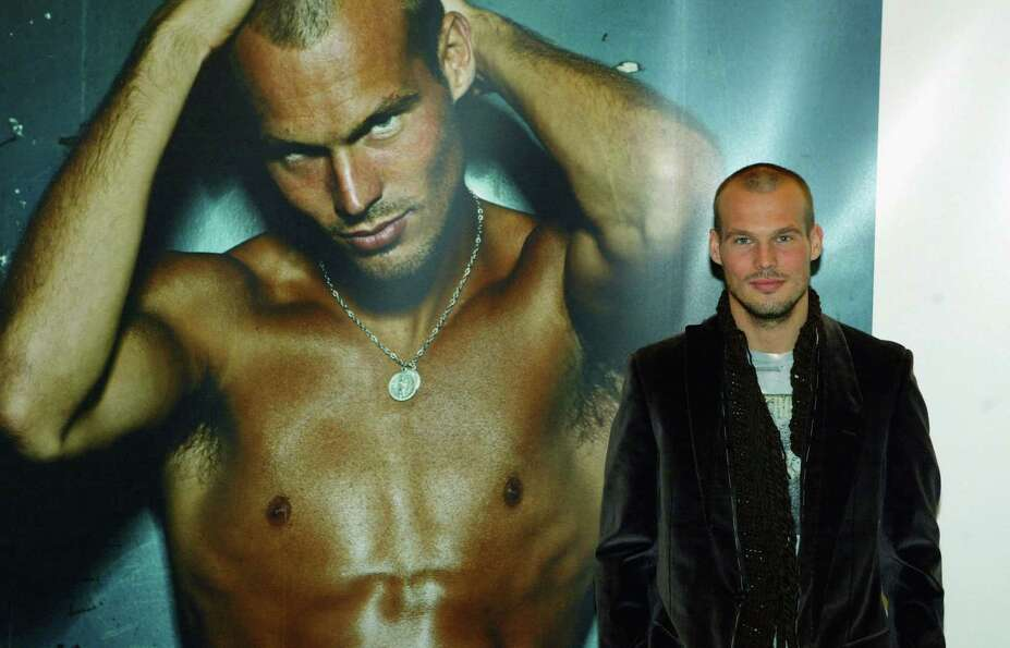 Swedish footballer Freddie Ljungberg was a famous CK undies model, back in 2003.