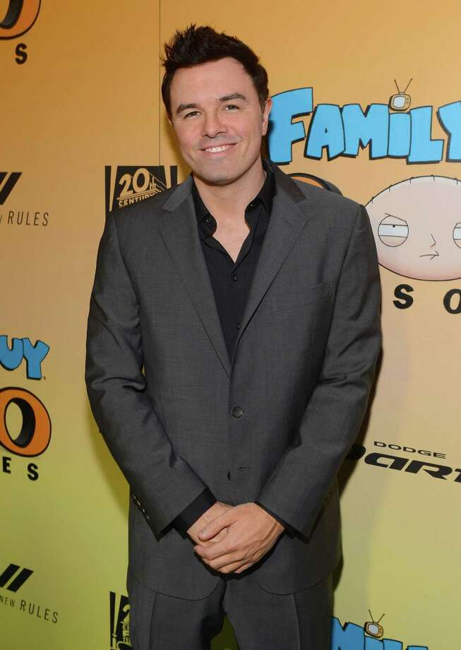 2012: Seth McFarlane Photo: Mark Davis, Getty Images For Fox / 2012 Getty Images