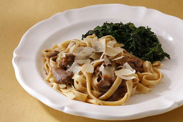 Braised Lamb With Pasta Photo: Craig Lee, Special To The Chronicle