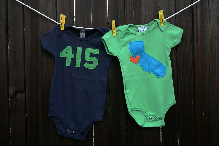 Show some territorial loyalty with these Ana Apple onesies. Photo: Ana Apple