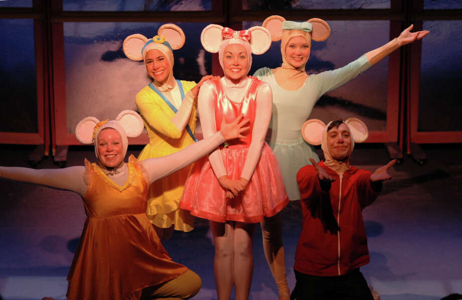 "A stage musical version of the popular ""Angelina Ballerina"" children's books will be presented at the Westport Country Playhouse on Dec. 9 at 1 and 4 p.m. Photo: Contributed Photo"