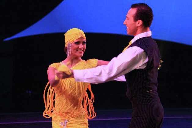 Stamford residents and national champs Shannon and Shane Jensen will be the featured act during an evening of dance presented by Premier Ballroom Dance Co. on Saturday, Nov. 24, 2012 at the Holy Trinity Greek Orthodox Church Community Center in Bridgeport, Conn. The evening begins at 7 p.m., with show time set to start at 9:30 p.m. Admission is $20. For more information, or to reserve a spot, call 203-374-7308. Photo: Contributed Photo