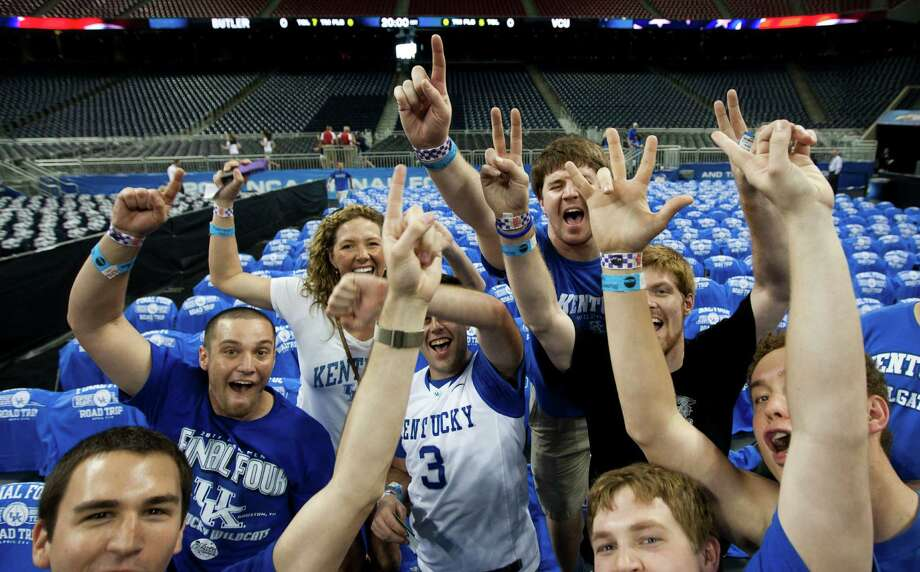 #4 Kentucky: 7.89 percent (Down from No.3 in 2010) Photo: Brett Coomer, Houston Chronicle / Houston Chronicle