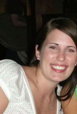 Amber V. Roussel, 31, died Monday around 4 p.m. after the bumper of a white pickup truck hit the car Roussel was in. Photo: Facebook