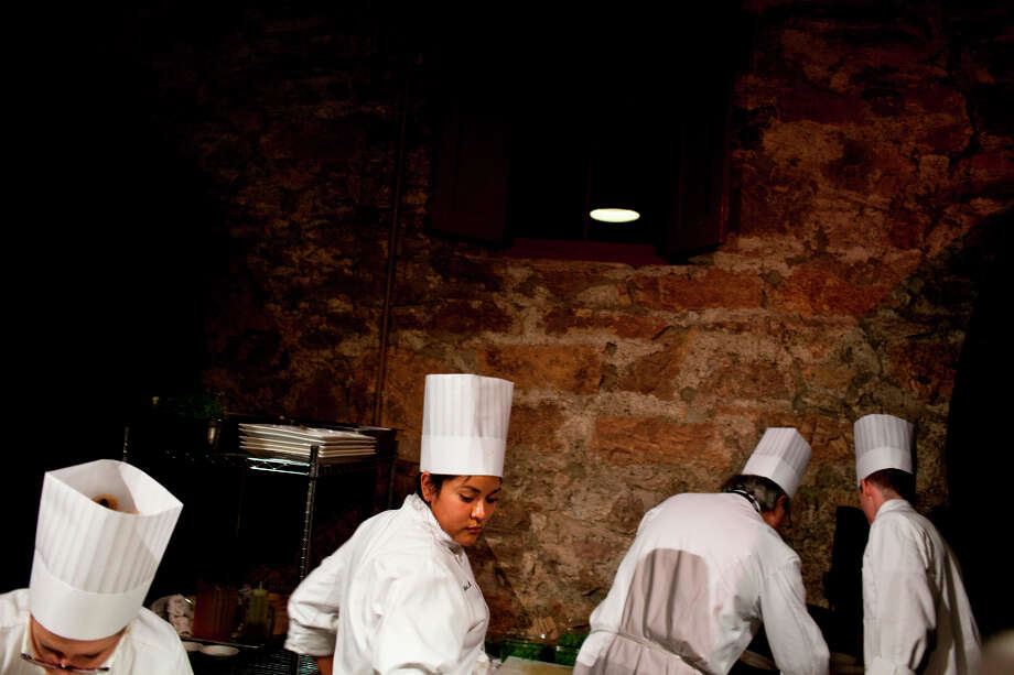 Staff of the Greystone Restaurant prepared dishes. Photo: Jason Henry, Special To The Chronicle / ONLINE_YES