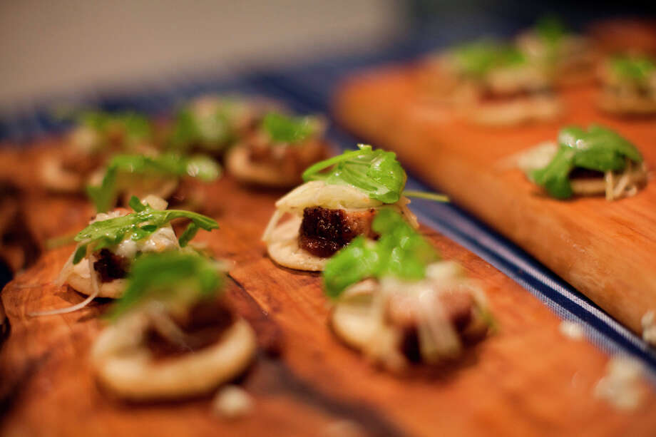 Cazuelitas de Puerco from chef Rene Ortiz of La Condesa. Photo: Jason Henry, Special To The Chronicle / ONLINE_YES