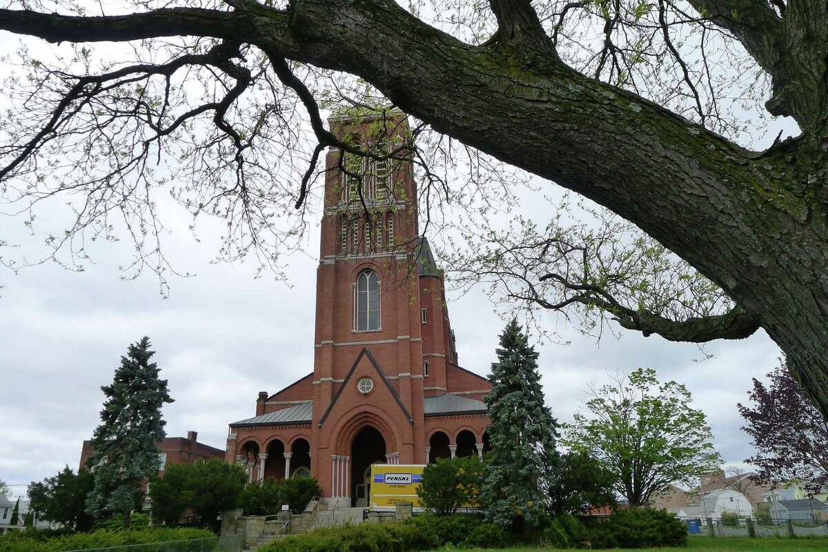 St. Patrick's Church in Watervliet N.Y. Friday April 27, 2012. (Michael P. Farrell/Times Union)