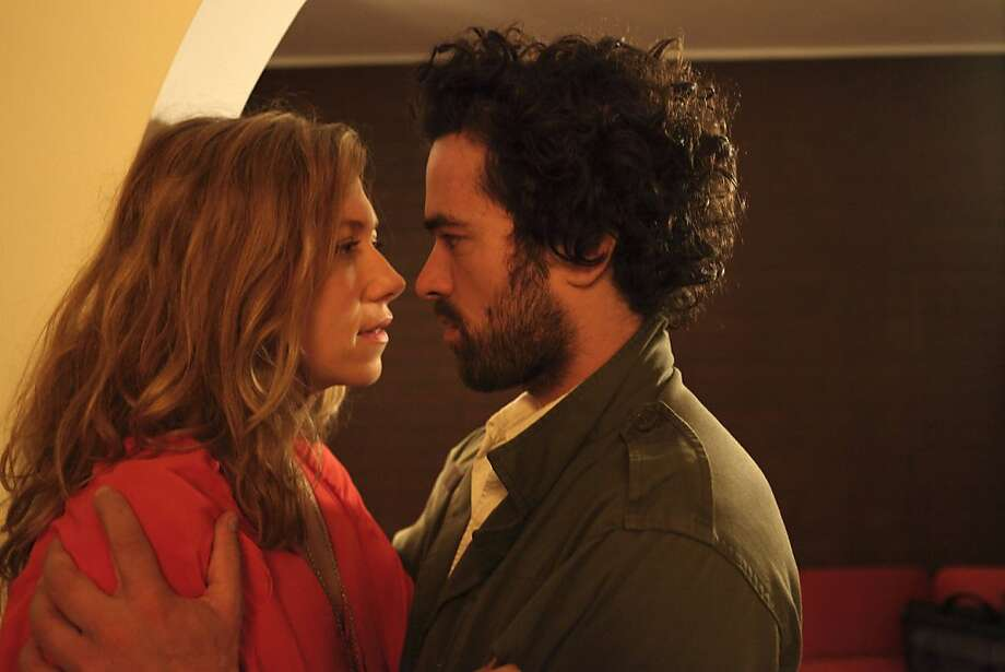 Branka Katiæ (left) and Romain Duris in a film with intriguing variations on a familiar theme. Photo: MPI Media Group