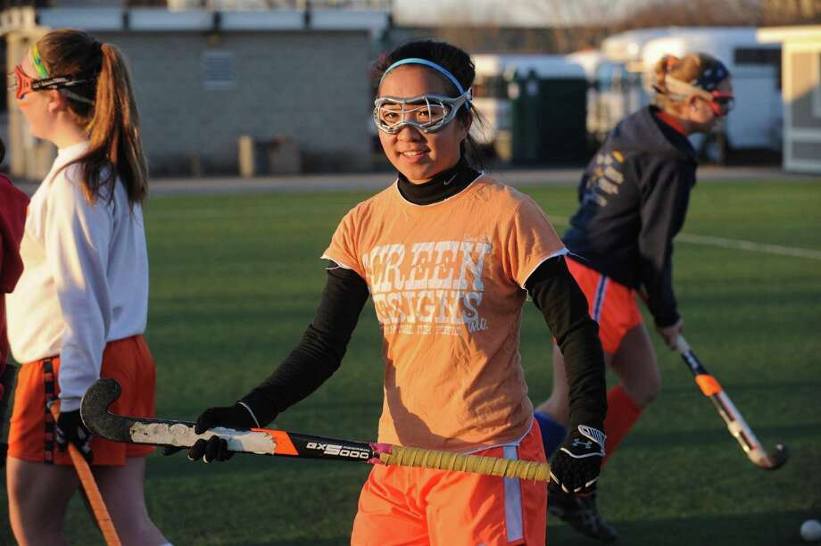 Niskayuna High School field hockey player Alexa Angerami in Schenectady, NY Friday Nov. 16, 2012. (Michael P. Farrell/Times Union) Photo: Michael P. Farrell