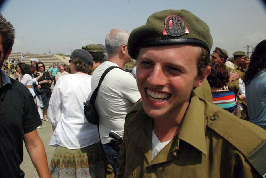 Jesse Buchine, 20, a Houston native, serves in the Israeli Army. Photo: Family Photo / family photo