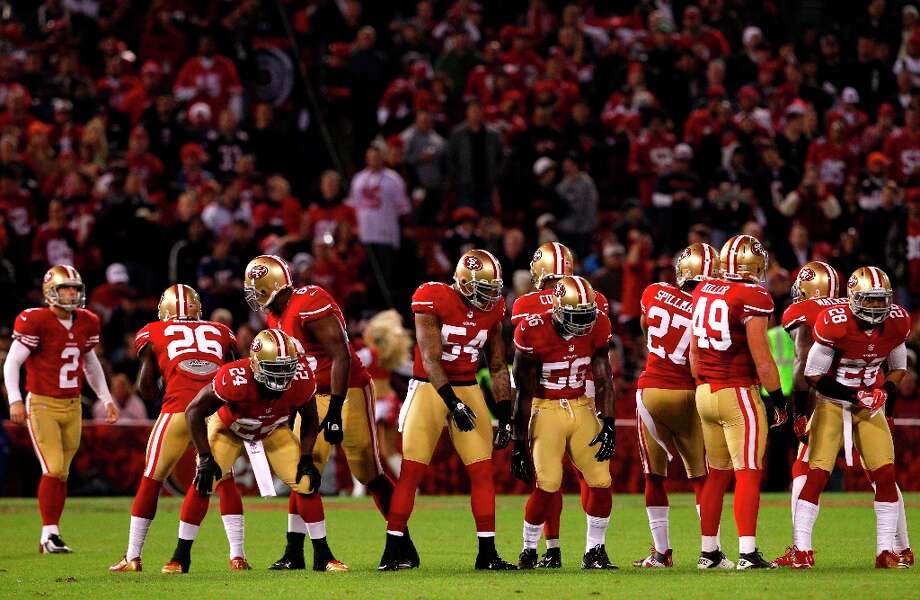 Special teams during the first quarter of the San Francisco 49ers game against the Chicago Bears at Candlestick Park in San Francisco, Calif., on Monday November 19, 2012. Photo: Carlos Avila Gonzalez, The Chronicle / ONLINE_YES