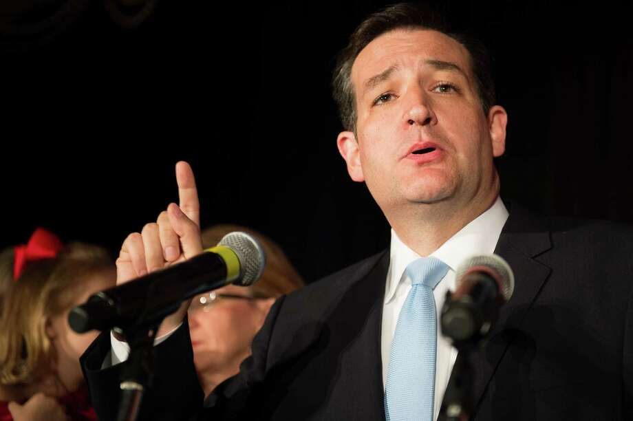 "Senator-elect Ted Cruz said three days of orientation on the ways of the chamber were helpful and wouldhelp him ""hit the ground running come Jan. 3"" Photo: Smiley N. Pool, Staff / © 2012  Houston Chronicle"