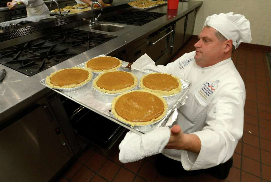 And pumpkin pie. There is no such thing as too much pumpkin pie.(Skip Dickstein/Times Union) Photo: Skip Dickstein / 00020175A
