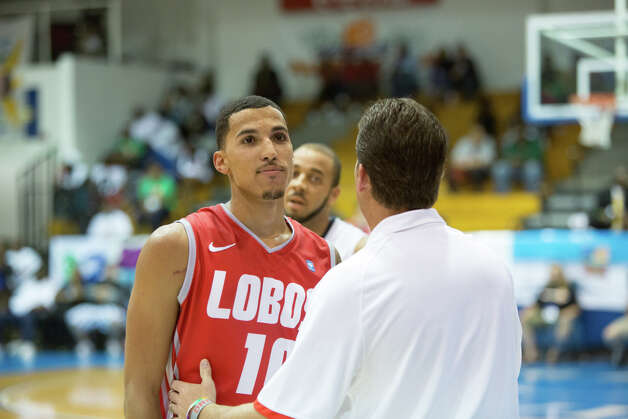 UConn vs. New Mexico, Paradise Jam Final, St. Tomas, U.S. Virgin Islands, Nov. 19, 2012. Photo: Courtesy Of Thomas Layer / Connecticut Post contributed