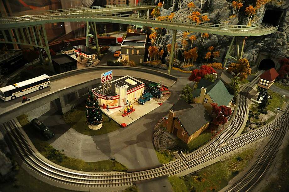 A general view of the New York Transit Museum's 11th Annual Holiday Train Show at Grand Central Station on November 19, 2012 in New York City. Photo: Ben Gabbe, Getty Images