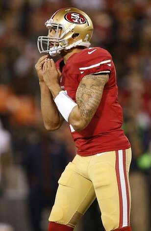 Quarterback Colin Kaepernick (7) during the San Francisco 49ers game against the Chicago Bears at Candlestick Park in San Francisco, Calif., on Sunday November 19, 2012. Photo: Stephen Lam, Special To The Chronicle