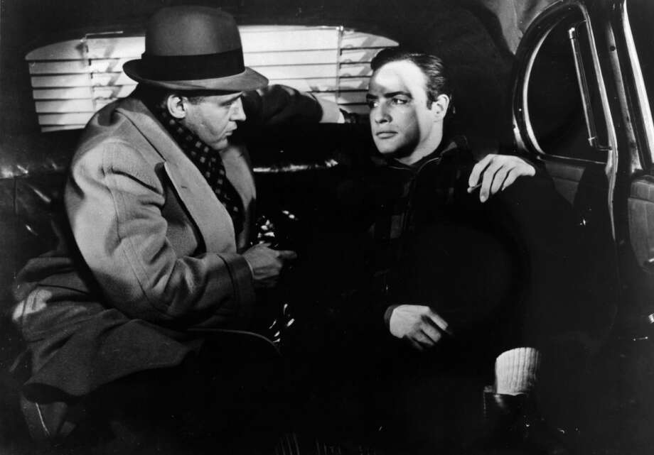 "5. THE MAFIA: I'm so scared of real the real mafia, I'm using this publicity photo from ""On the Waterfront"" instead of a photo of a real dude from La Cosa Nostra.  (Associated Press photo) Photo: AP / MOVIE STAR NEWS"
