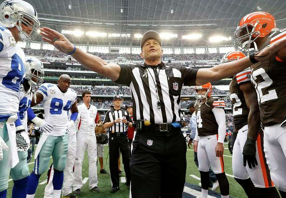 "3. ED HOCHULI: Having National Football League ref Ed Hochuli on television every week may be our greatest deterrent to a foreign invasion. Would you invade a country where even the referees have bodies like Thor from ""The Avengers""? Photo: Sharon Ellman, Associated Press / FR170032 AP"