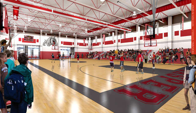 The new JJHS gym Photo: Courtesy Image