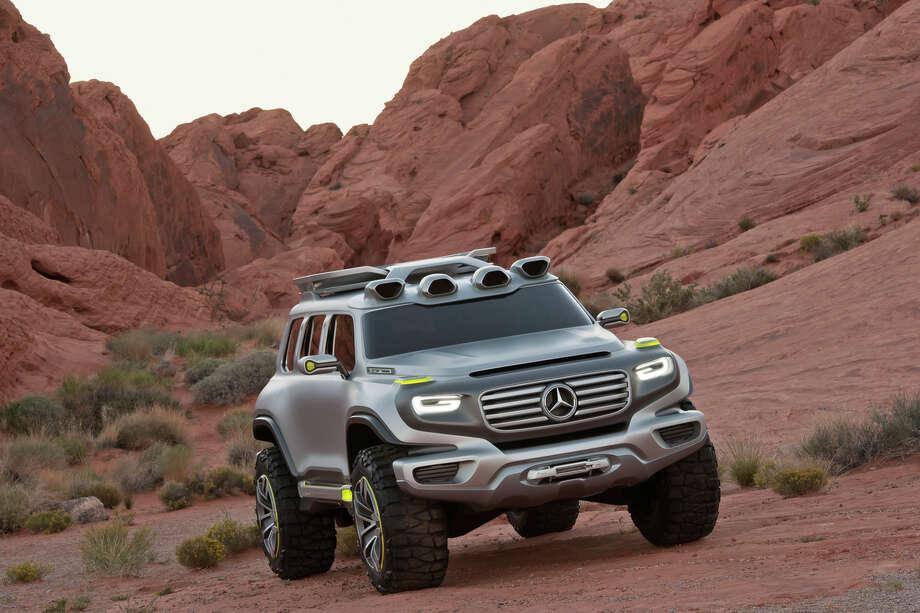 Mercedes-Benz Ener-G-Force Concept Vehicle. Photo: Mercedes-Benz USA, Mercedes-Benz / © 2012 Mercedes-Benz USA