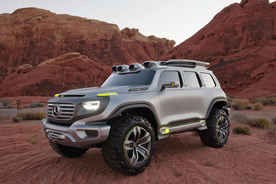Mercedes-Benz Ener-G-Force Concept Vehicle.
