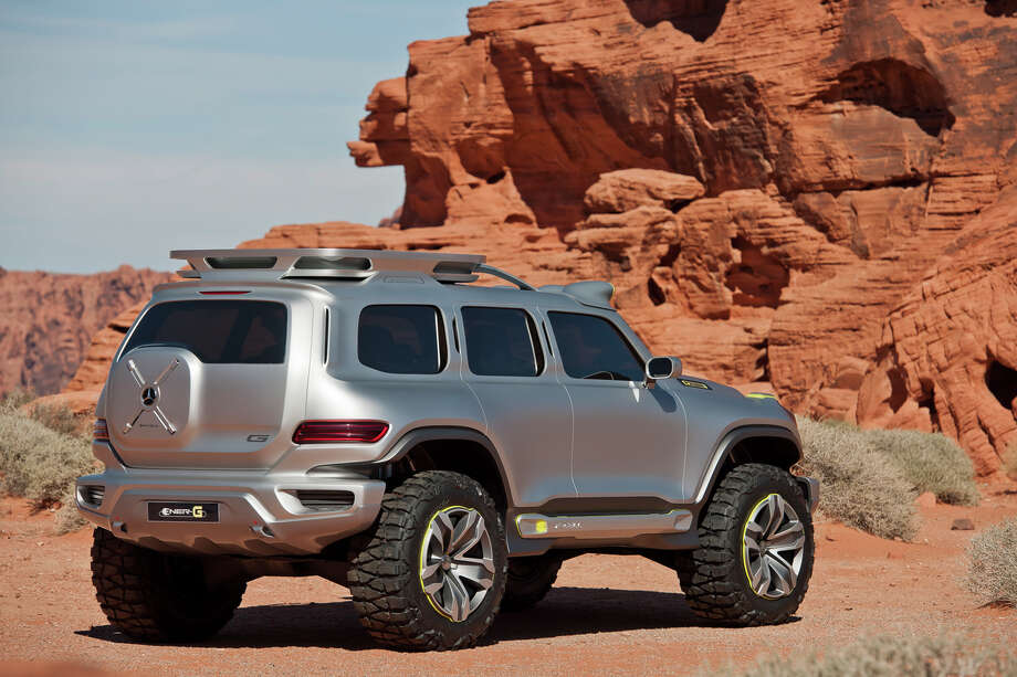 Mercedes-Benz Ener-G-Force Concept Vehicle. Photo: Mercedes-Benz USA, Mercedes-Benz / © 2012 Mercedes-Benz USA