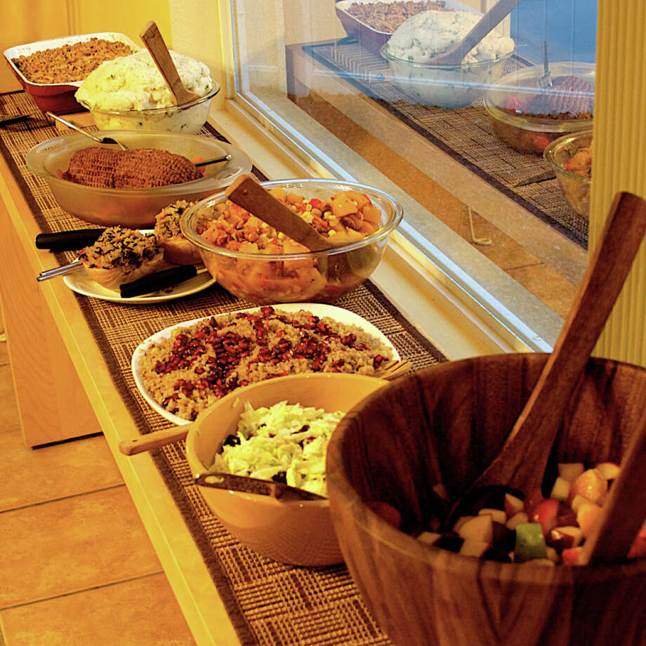 Thanksgiving buffets make a mouth-watering impression, but the food should be refrigerated as soon as the meal is over to prevent the growth of harmfull bacteria. Photo: Submission / submission