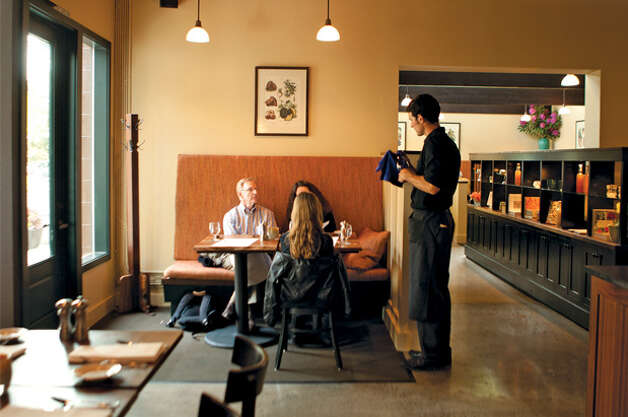 Best New Trip-Worthy Restaurant: Restaurant Marché. Bainbridge Island's sleek and welcoming Marché is worth the trip. For the full review, visit Seattle Magazine. (Hayley Young) Photo: Seattle Magazine