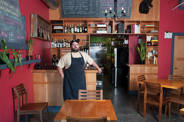 Best New Chef-Driven Eatery: Blind Pig Bistro. Blind Pig's Charles Walpole is pictured above. For the full review, visit Seattle Magazine. (Mariana Kajlich) Photo: Seattle Magazine