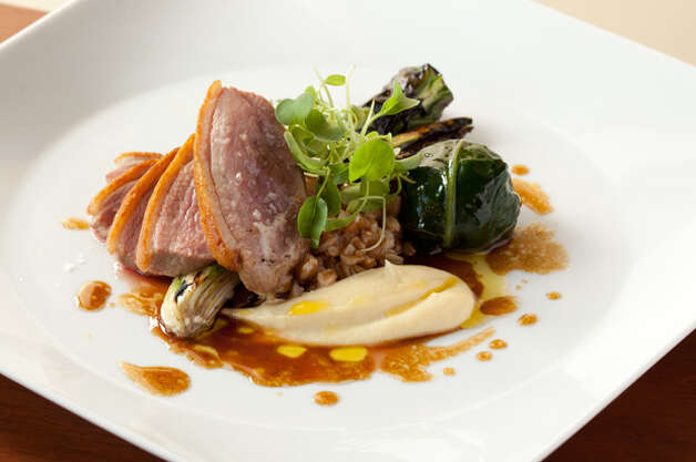 Best New Fine Dining: Altura. Altura's slow-roasted duck breast, served atop parsley root puree and farro is pictured above. For the full review, visit Seattle Magazine. (Hayley Young) Photo: Seattle Magazine