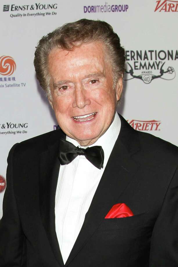 This Nov. 19, 2012 photo released by Starpix shows event host Regis Philbin at the 40th International Emmy Awards in New York. Photo: Andrew Toth, AP / STARPIX