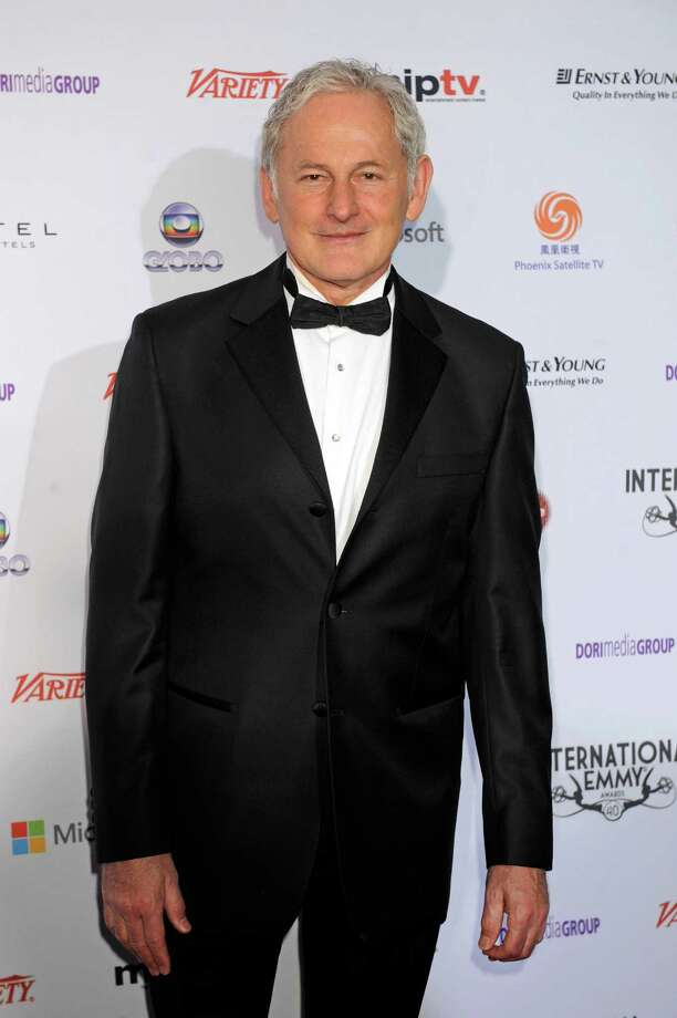 Actor Victor Garber arrives at the 40th International Emmy Awards,  Monday, Nov. 19, 2012 in New York. Photo: Henny Ray Abrams, AP / FR151332 AP