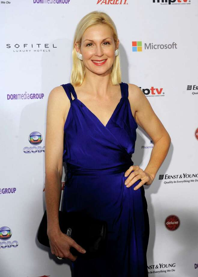 "Actress Kelly Rutherford from ""Gossip Girl,"" arrives for the 40th International Emmy Awards,  Monday, Nov. 19, 2012 in New York. Photo: Henny Ray Abrams, AP / FR151332 AP"