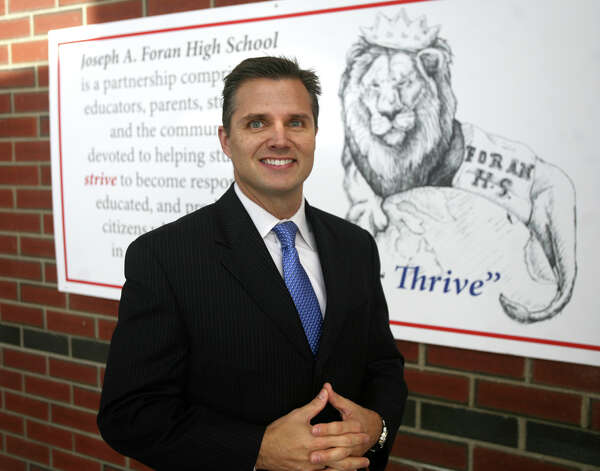 John Barile, principal of Joseph A. Foran High School in Milford, is leaving to become the new superintendent of schools in Bethany. Photo: Brian A. Pounds / Connecticut Post