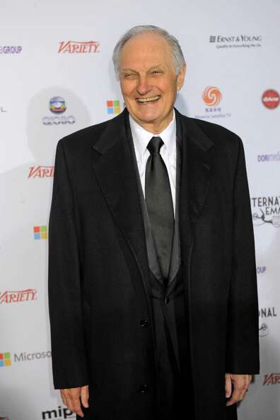 Alan Alda arrives at the 40th International Emmy Awards,  Monday, Nov. 19, 2012 in New York.