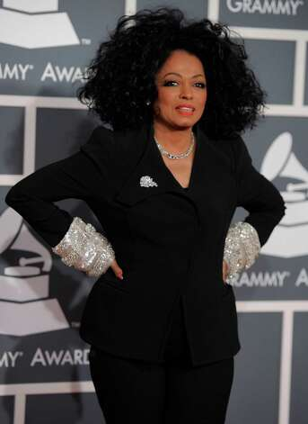 Diana Ross arrives at the 54th annual Grammy Awards on Sunday, Feb. 12, 2012 in Los Angeles. (AP Photo/Chris Pizzello) Photo: Chris Pizzello, Associated Press / AP